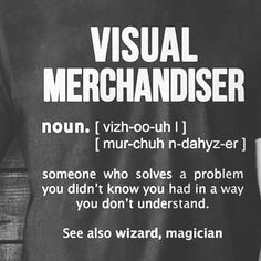 """VISUAL MERCHANDISER, World Wide, """"Have A Great Day to all VM's Around The World"""", pinned by Ton van der Veer"""