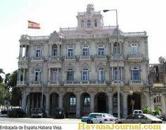 Spanish Embassy in Havana Cuba