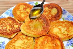 Make Syrniki (ricotta pancakes)  Swap the flour for coconut flour, sugar for stevia, and a keto free topping, and you've got what I've been making for breakfast for the past few days - without realising it was syrniki!