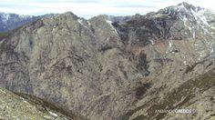 La Garganta Tejea abajo vista desde el Sillao de la Peña