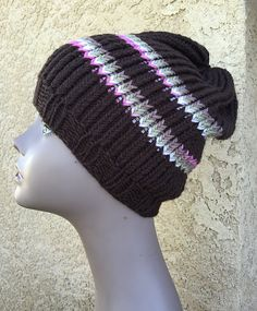 Ravelry: Camo Striped Hat FREE pattern by Dayna Scoles