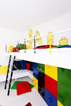 lego bunk beds   Lego bed   Cool beds for the boys