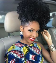 Voice of Hair is the place to find natural and relaxed hairstyles and hairstylists in your area. Find new styles or become a featured stylist! Curly Hair Styles, Natural Hair Styles, African Girl, African Fashion, Ankara Fashion, African Style, Curls For The Girls, Ponytail Bun, Curly Hair Routine