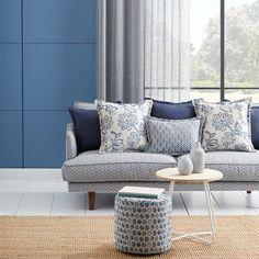 Warwick Fabrics : BIANCA Caravan Upholstery, Sofa Upholstery, Fabric Sofa, Hampton Furniture, Lounge Furniture, Lounge Chairs, Chair Reupholstery, Warwick Fabrics, Lounge Suites