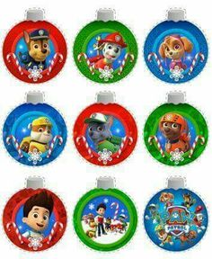 FREE Christmas Printables & Coloring Pages for Kids including Paw Patrol printable ornaments and Dear Santa Letter l KidsPartyWorks. Paw Patrol Christmas Ornaments, Printable Christmas Ornaments, Free Christmas Printables, Christmas Activities, Christmas Tag, Toddler Christmas, Holiday Ornaments, Paw Patrol Party, Paw Patrol Birthday