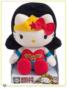 """""""Wonder Woman"""" Hello Kitty"""