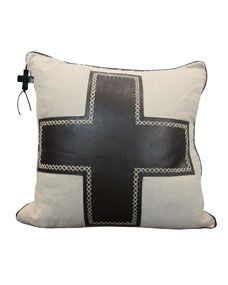 Shop Black Cruz Pillow from Jan Barboglio at Horchow, where you'll find new lower shipping on hundreds of home furnishings and gifts. Cheap Throw Pillows, Decorative Throw Pillows, Iron Accessories, Red And Grey, Black, Wood Crosses, Pillow Sale, Luxury Home Decor, Handmade Home Decor