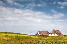 Haus Kliffende (Kampen / Sylt), Dünen, Kampen, Küste, Nordsee, Wolken
