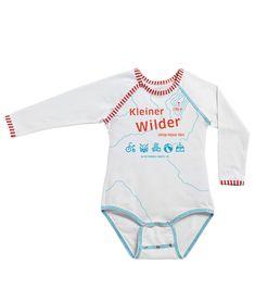 KLEINER WILDER - Nur für Erfahrene! Bio Babywäsche von EIN SCHÖNER FLECK ERDE. Sustainable Fashion, Onesies, Babies, Clothes, Earth, Kids, Nice Asses, Outfits, Babys
