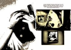 graphic novel using photography - Google Search