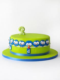 sabores da gula: Bolo de Aniversário do David