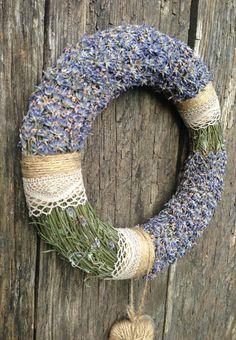 Wedding Wreath  Summer Wreath  Home Decor by CadeauDeLaNature