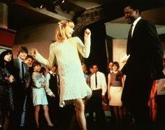 Judy Geeson & Sidney Poitier in: To Sir with Love.  WATCH this movie.  It is excellent!