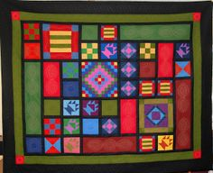 amish quilt patterns | Cat Patches: Blogger's Quilt Festival: Plain and Simple Amish Sampler