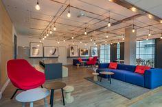 The lights!   Simpson Carpenter Offices - London - Office Snapshots