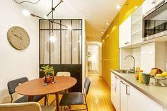 Appartement Paris 6 : avant/après d'un 90 m2 rénové avec verrières - Côté Maison