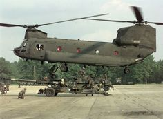 chinook | The Chinook is a very capable and versatile support helicopter that ...