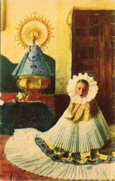 Vintage postcard Oaxaca, México