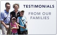Testimonials From Our Families