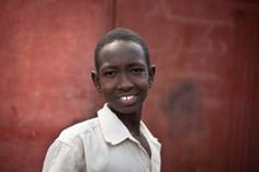 A boy from the SOS Children's Village in Malakal, South Sudan.