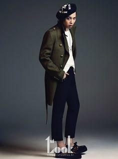 Big Bang G-Dragon - 1st Look Magazine October Issue '11