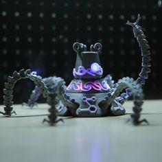 Free 3D file Guardian Robot Hackable – Bottom Remix, Adafruit • Download on https://cults3d.com • #3Dprinting #3Dprint #3Ddesign #STLmodel #3Dmodel #3Dprinter #Impression3D #Imprimante3D #Fichier3D #Design #3Dmodeling #3D