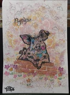 Lavinia Stamps, Moose Art, Cards, Pink, Animals, Ideas, Design, Animales, Animaux