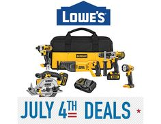 lowes 4th of july sale dates