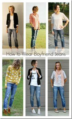 7 Simple Ways to Wear Boyfriend Jeans