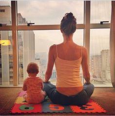Gisele Bundchen and her daughter Vivian