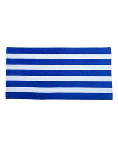 Carmel Towel Company - Cabana Stripe Velour Beach Towel - C3060S