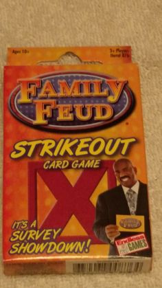 family feud strikeout card game new