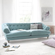 Chesterfield Style Sofa | Bagsie | Loaf  Bagsie Sofa built by Glen & Aidan in Long Eaton England E1715