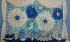 Mesa de dulces  Mis 15 años sueño azul