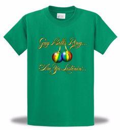 Gay-Bells-Ring-Christmas-T-shirt-Funny-Gay-Pride-LGBTQ-Song-Carol-Holiday-Mens