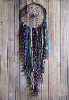 Large Dream Catcher Boho Dream Catcher Wall by VagaBoundPeople