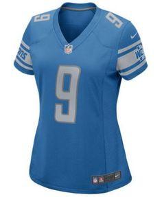 Nike Women's Matthew Stafford Detroit Lions Nfl Game Jersey - Blue XL