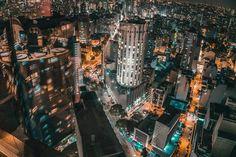 New free stock photo of city landmark lights via Pexels https://www.pexels.com/photo/aerial-architecture-buildings-city-434198/