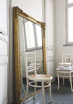 Love the mirror - gilt mirror