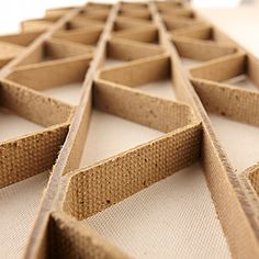 ECOR is an extremely strong, versatile and sustainable alternative to wood, composites, aluminum and plastic. Timber Furniture, Cardboard Furniture, Surfboard Shapes, Honeycomb Paper, Digital Fabrication, Cardboard Paper, Diy Coffee Table, Building Materials, Creative Design