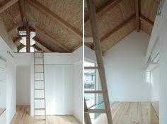 ikeda yukie architects: shakujii- Y houses