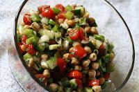 FIT Momma Chronicles: Quick Lunch Idea: No Fuss Chickpea Salad