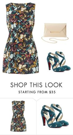 """""""Summer evening"""" by monika1555 on Polyvore featuring Mela Loves London, Amazonia and Charlotte Russe"""
