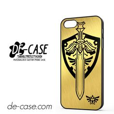 Zelda Master Sword Hylian Shield DEAL-12206 Apple Phonecase Cover For Iphone SE Case