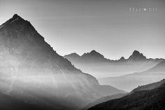 https://flic.kr/p/MLem7W   160828  Silhouette of Dolomite peaks