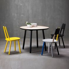 Naive Dining Table, Black -  - Dining Table - EMKO - Space & Shape - 7