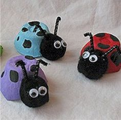 Egg Carton Crafts For Kids. How To Make Your Egg Carton Spider Craft. Egg Carton Sewing Kit By . Kids Crafts, Spring Crafts For Kids, Craft Activities For Kids, Summer Crafts, Toddler Crafts, Crafts To Do, Preschool Crafts, Art For Kids, Craft Projects