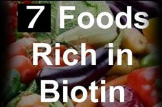 NEWS ABOUT HEALTH: Top 7 Food for Biotin