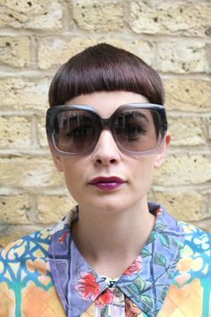Vintage Oliver Goldsmith Oversized Sunglasses - Lunettes London.com