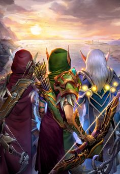 The Windrunner sisters~Blood Elf~ World of Warcraft World Of Warcraft Game, Warcraft Art, High Fantasy, Fantasy Art, Anime Comics, Dc Comics, World Of Warcraft Wallpaper, Sylvanas Windrunner, Spirit Fanfics